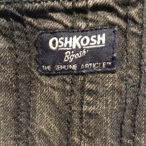 Just the Oshkosh lined overalls.